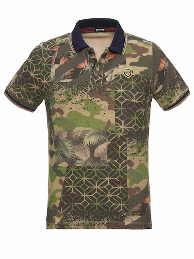 CAMOUFLAGE POLO