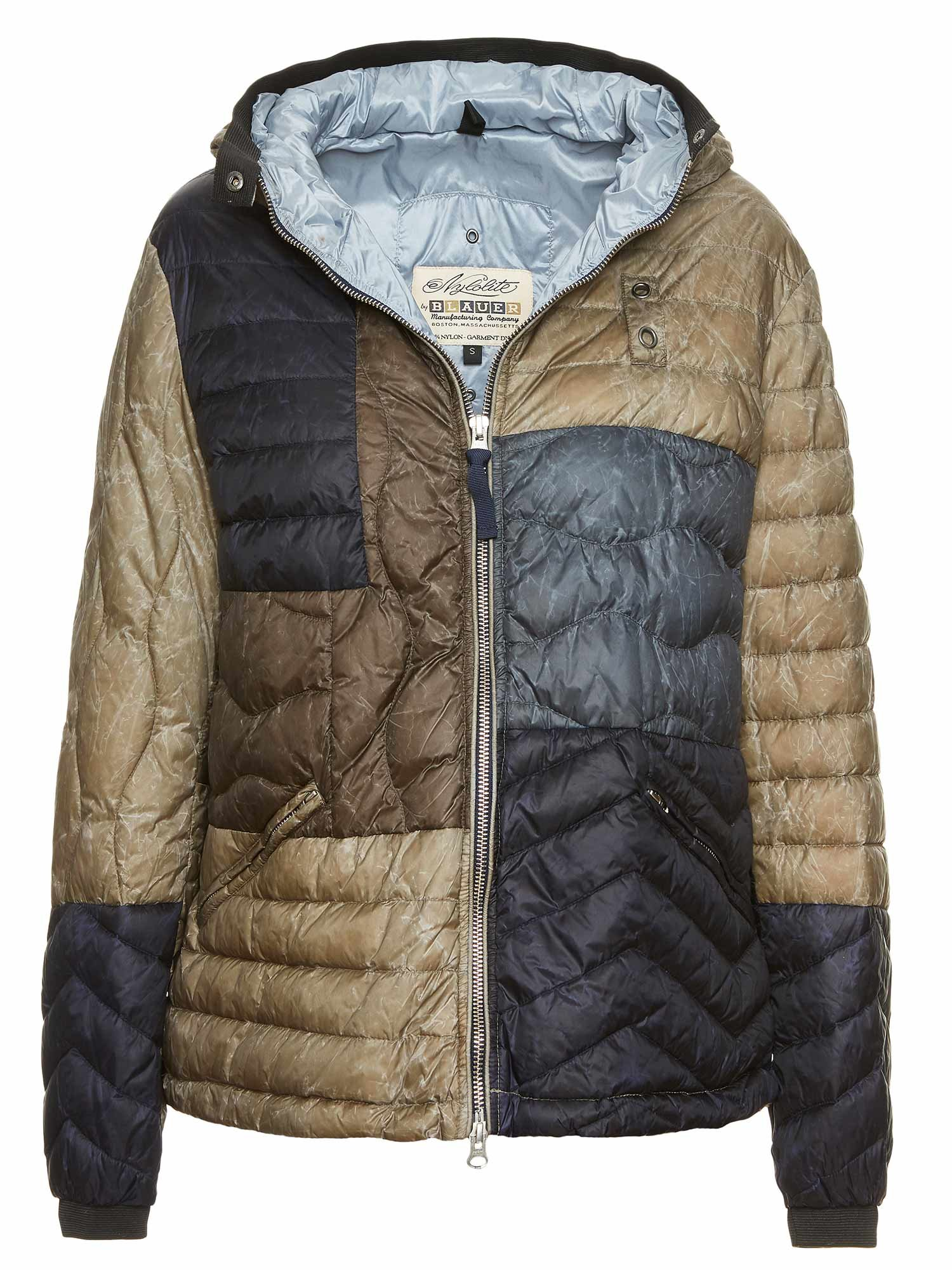 100 GR. DOWN JACKET ANNIE PATCHWORK - Blauer