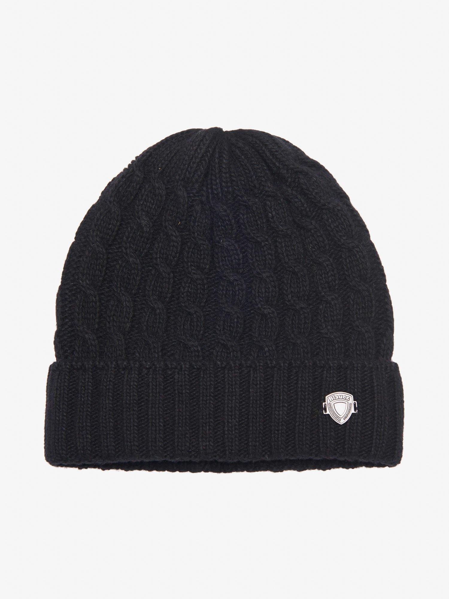 Blauer - SAILOR CAP WITH CUFF - Black - Blauer