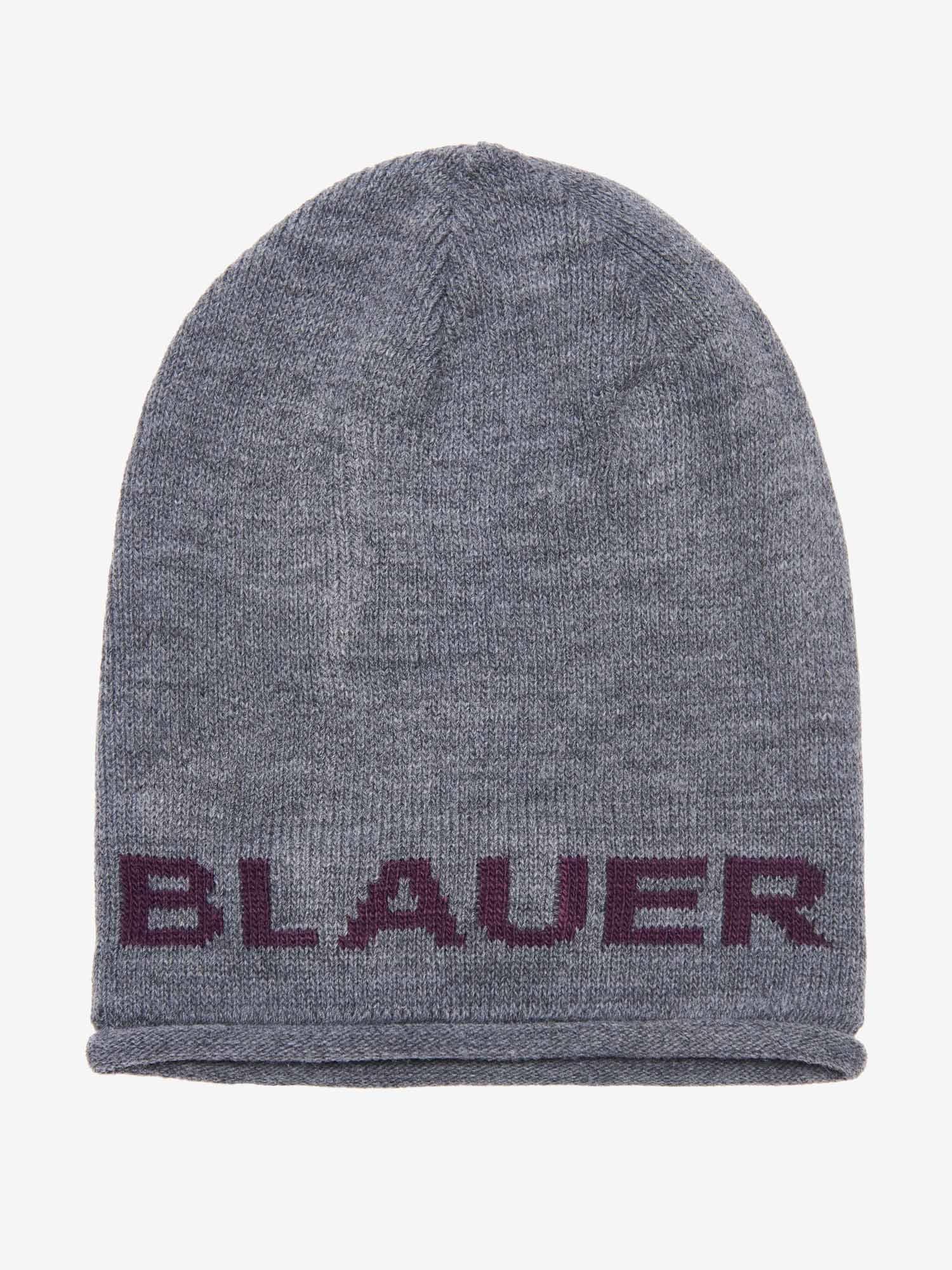 Blauer - BERRETTO  BLAUER - Grigio Scuro Melange - Blauer