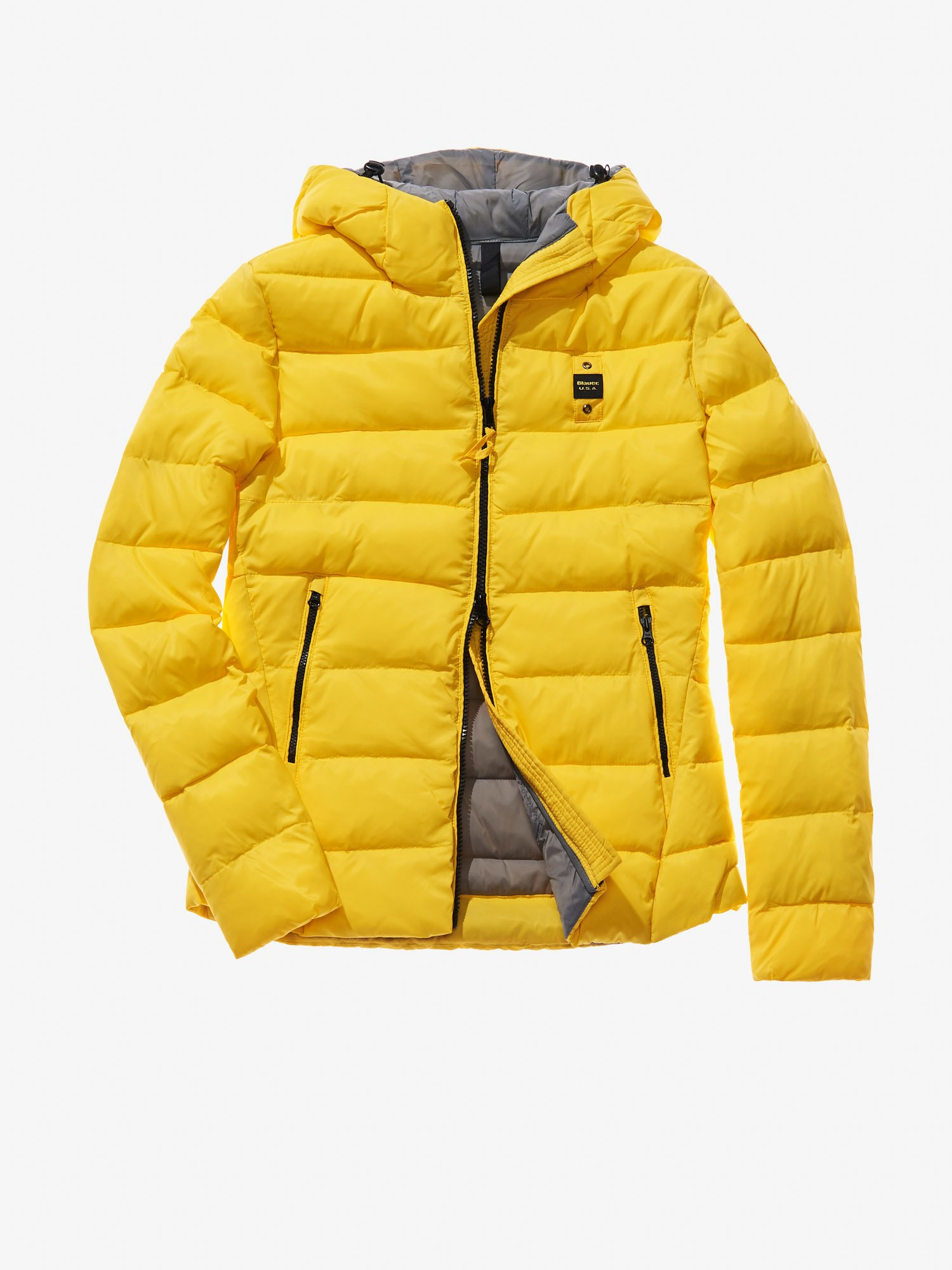 ANNA HOODED ECO-DOWN JACKET - Blauer
