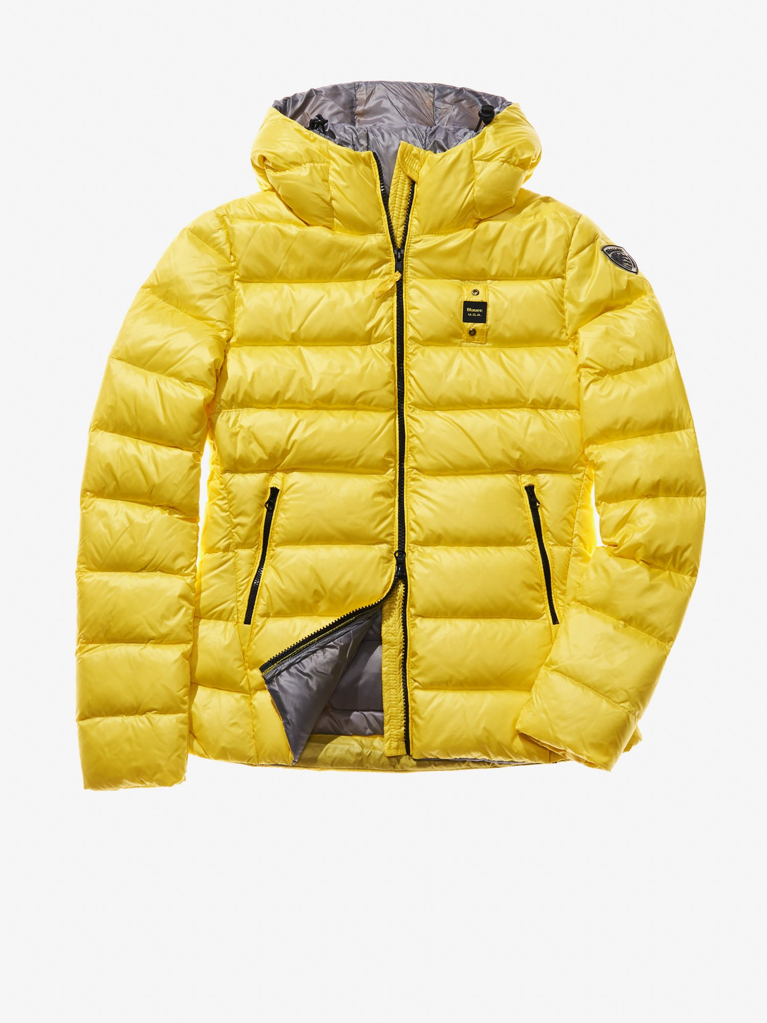 CHIARA QUILTED DOWN JACKET WITH ATTACHED HOOD - Blauer