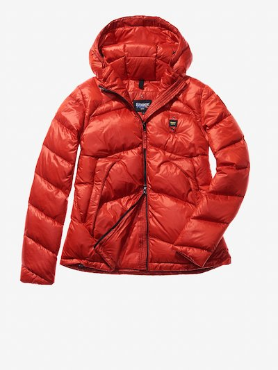 SILVIA HOODED DOWN JACKET
