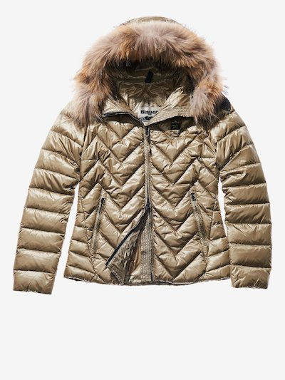 SARA ULTRA LIGHT ZIG ZAG-QUILTED DOWN JACKET