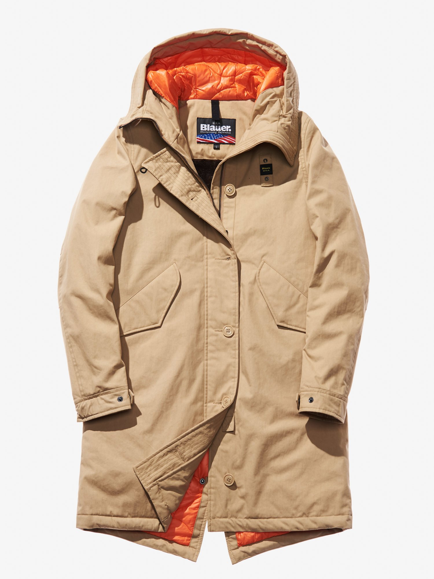 purchase cheap 3518b 2ea25 Anita Gabardine Hooded Parka | Blauer®