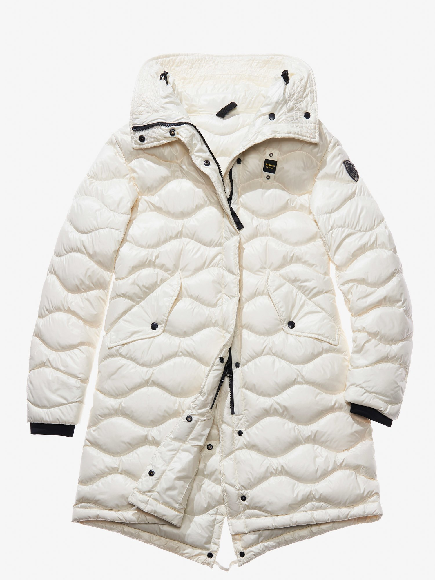 NOEMI WAVE-QUILTED DOWN PARKA - Blauer