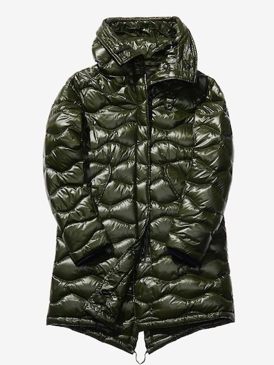 NOEMI WAVE-QUILTED DOWN PARKA