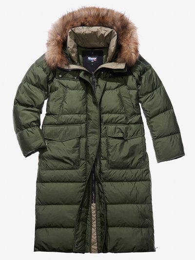 ELISA HOODED DOWN PARKA