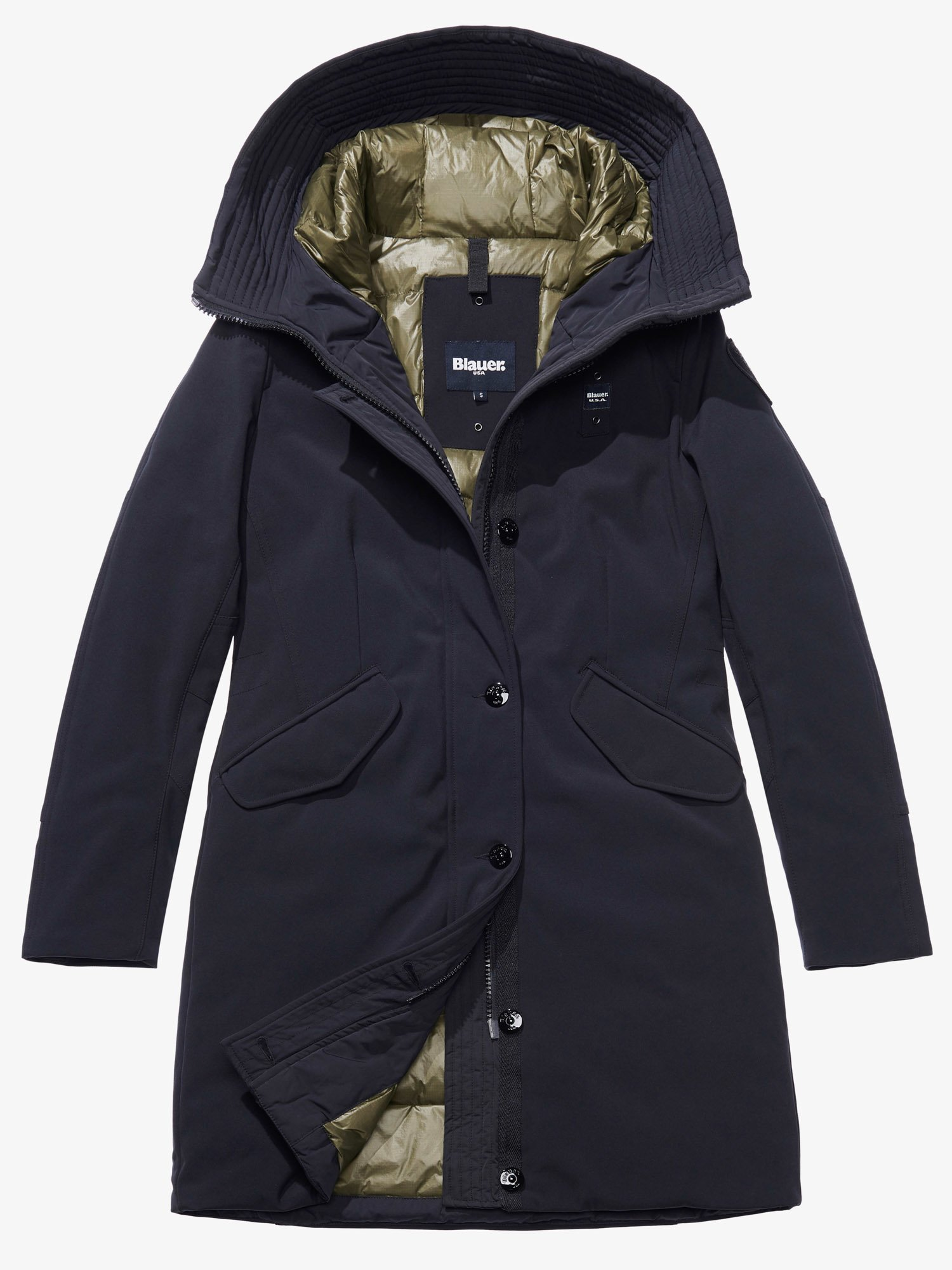 ANGELICA PADDED PARKA WITH HOOD - Blauer