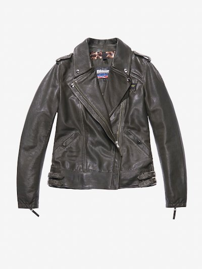 MARIA LEATHER BIKER JACKET