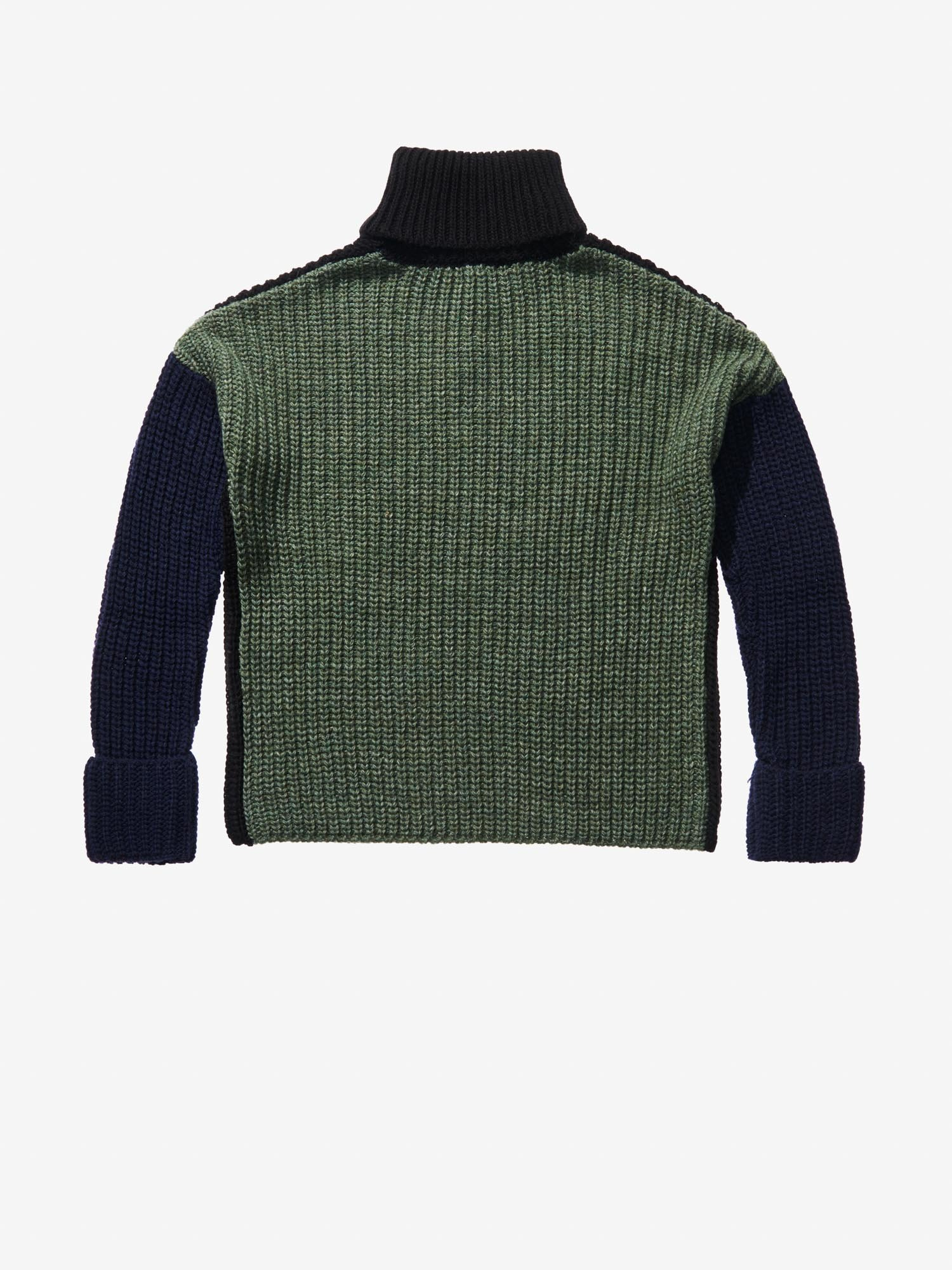 MULTICOLOUR TURTLENECK - Blauer