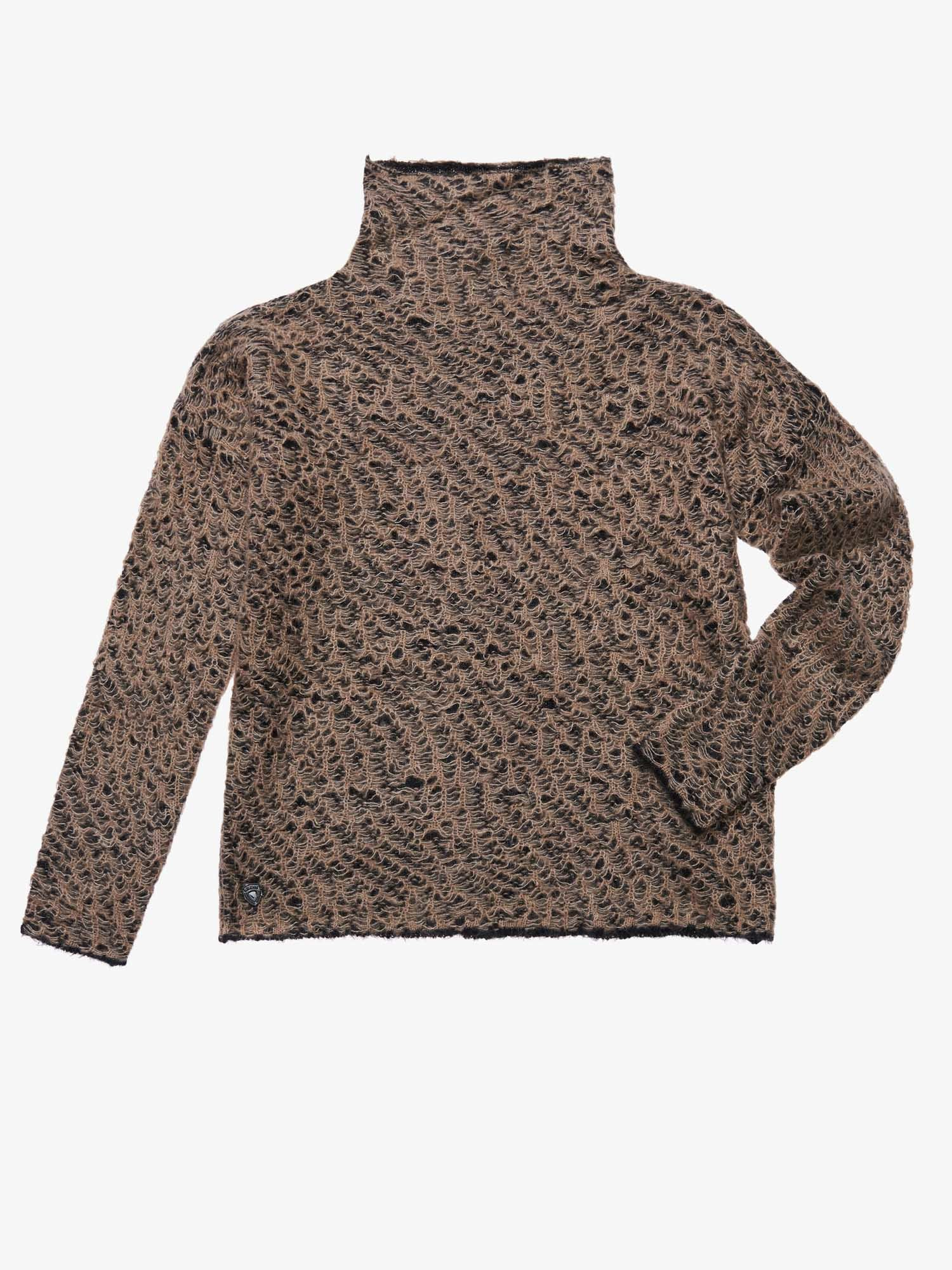 WOOL MOHAIR SWEATER - Blauer