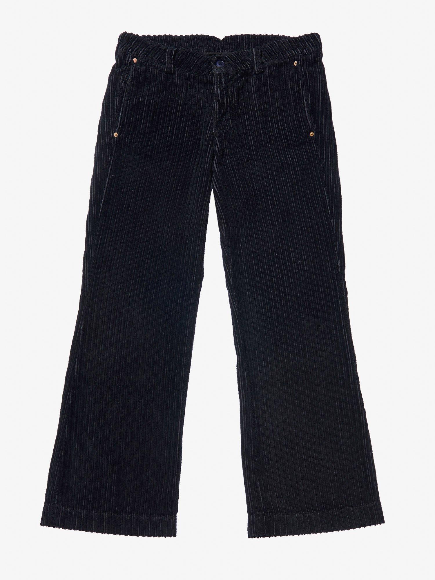 FINE WALE CORDUROY PANTS - Blauer