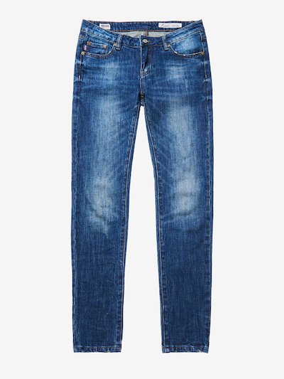 LIGHT SKINNY DENIM