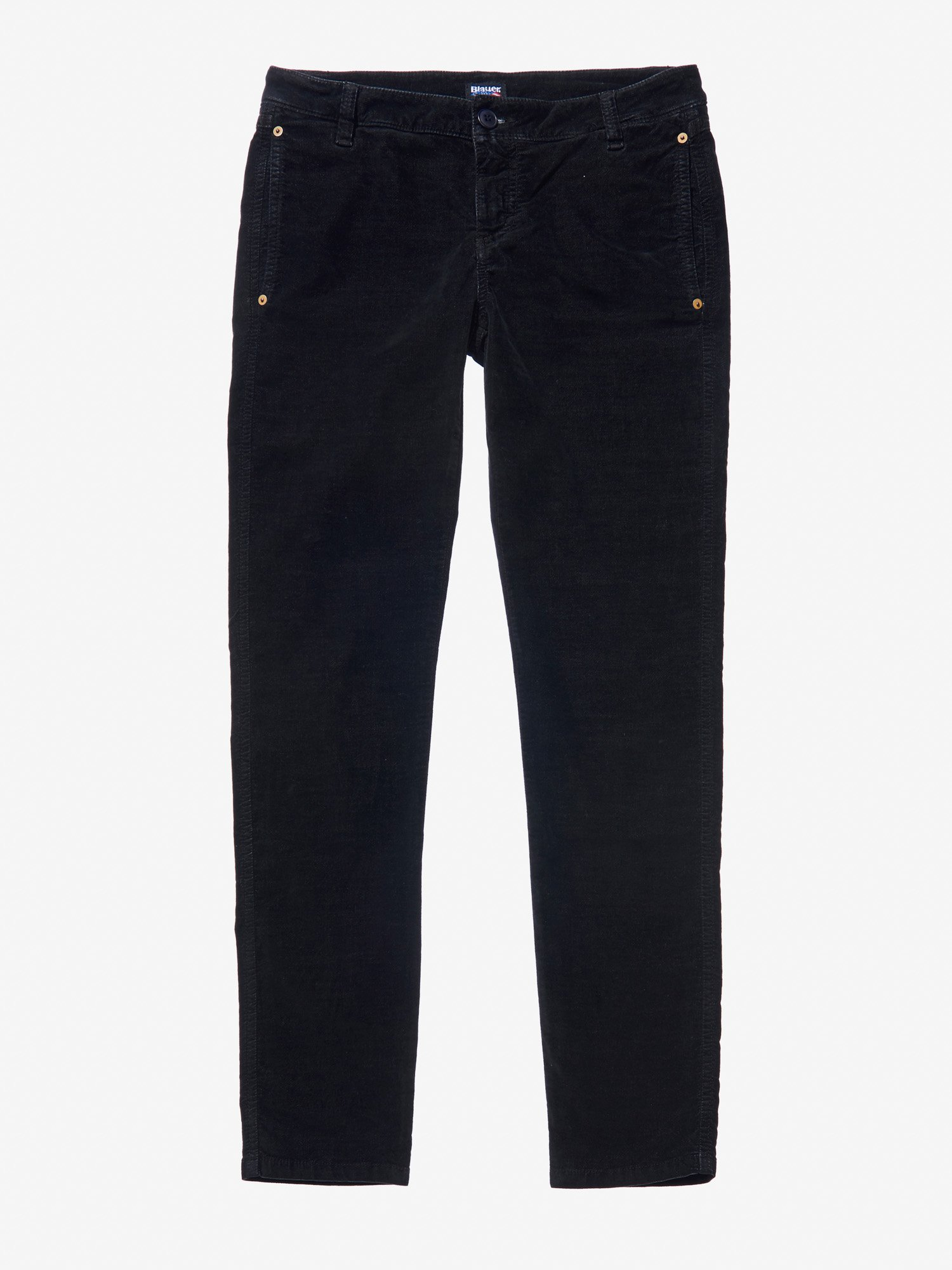 PANTALONE IN VELLUTO MILLE RIGHE - Blauer