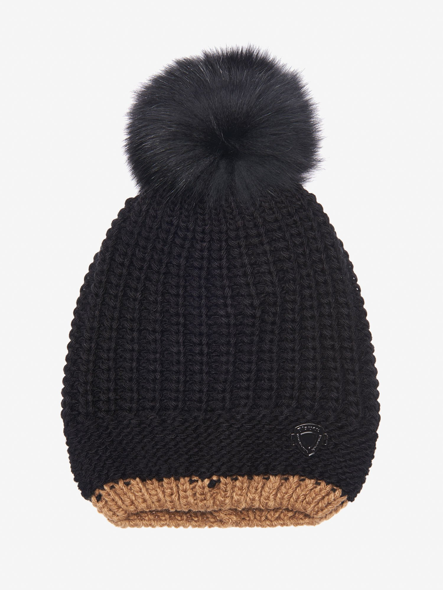 JUNIOR CAP WITH POM POM - Blauer