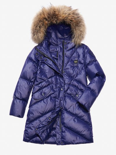 PETRA QUILTED DOWN COAT WITH HOOD