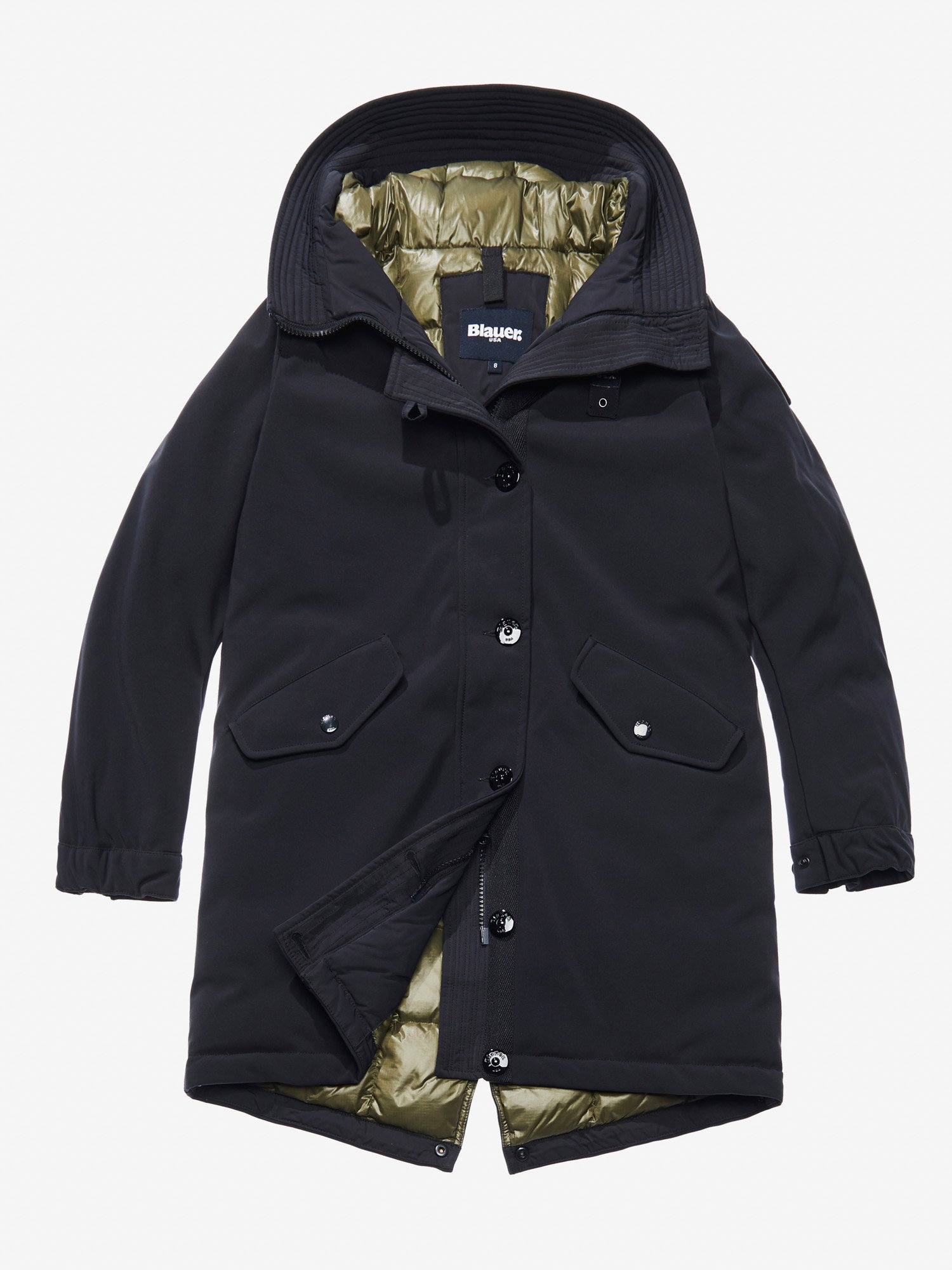 FRIDA PADDED LONG PARKA - Blauer