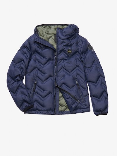 MILO ZIG ZAG-QUILTED DOWN JACKET