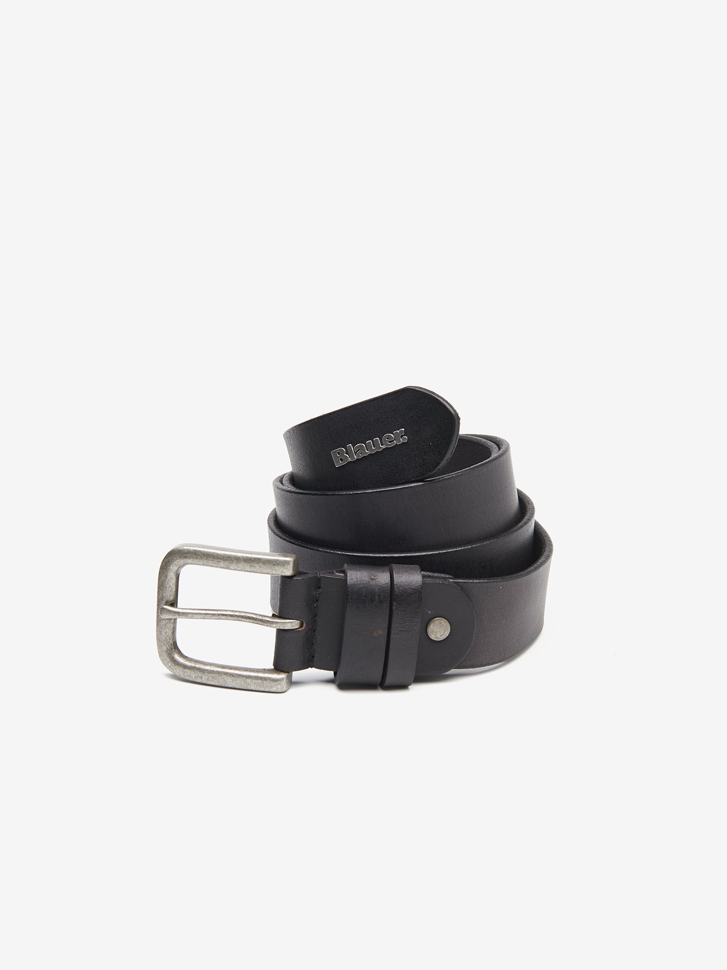 BELT WITH SATIN BUCKLE - Blauer