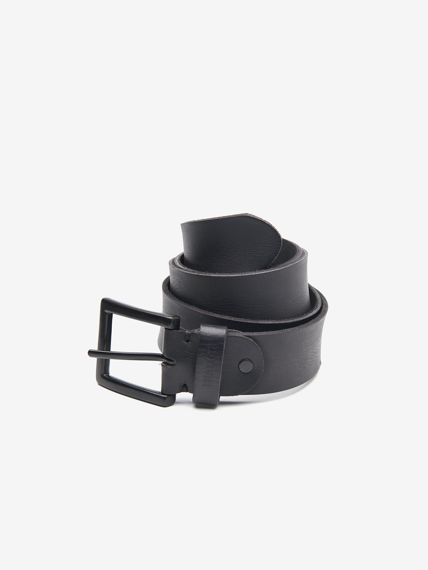CLASSIC BELT IN CALF LEATHER - Blauer