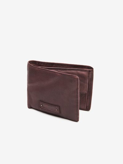 WALLET IN CALF LEATHER