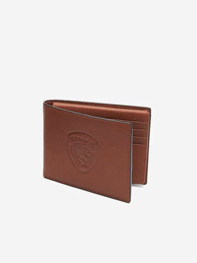 WALLET WITH BLAUER SHIELD