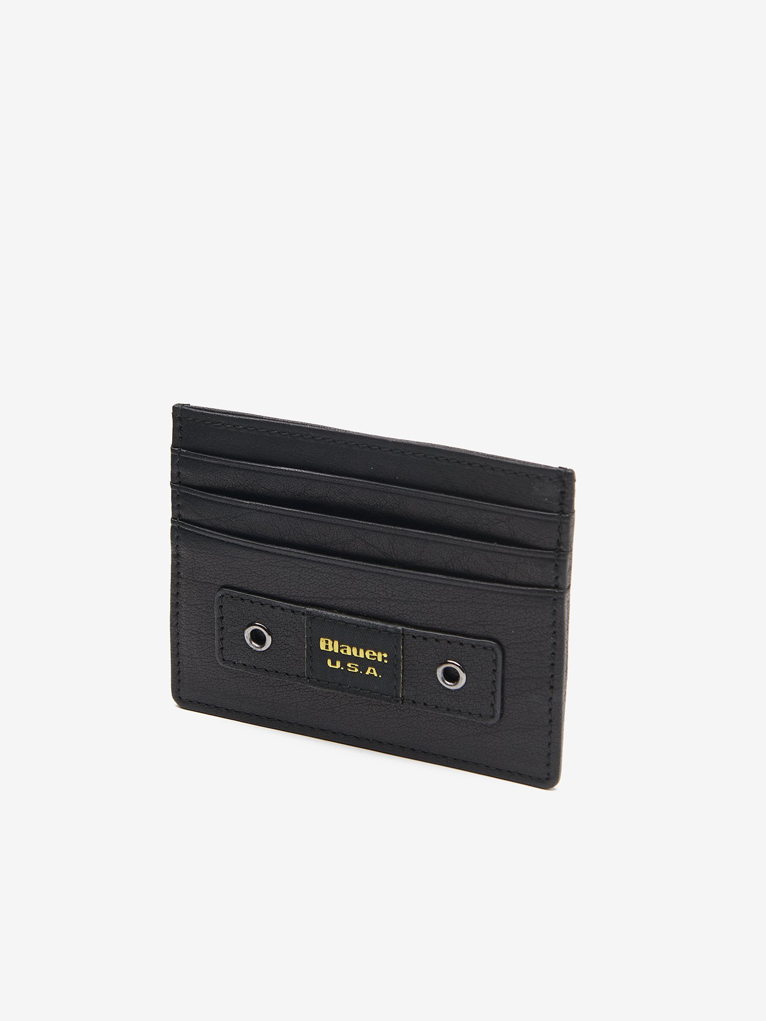 CREDIT CARD HOLDER WITH BLAUER LOOP - Blauer