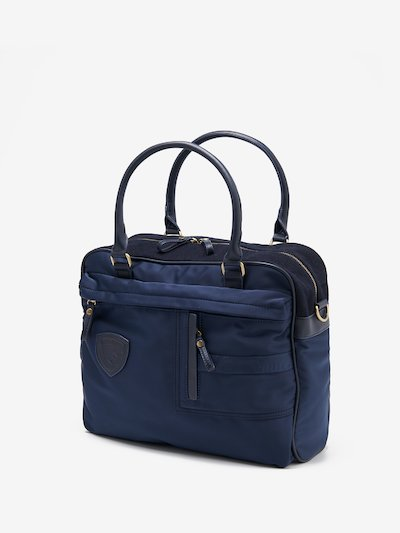 SOFT BRIEFCASE WITH TWO HANDLES