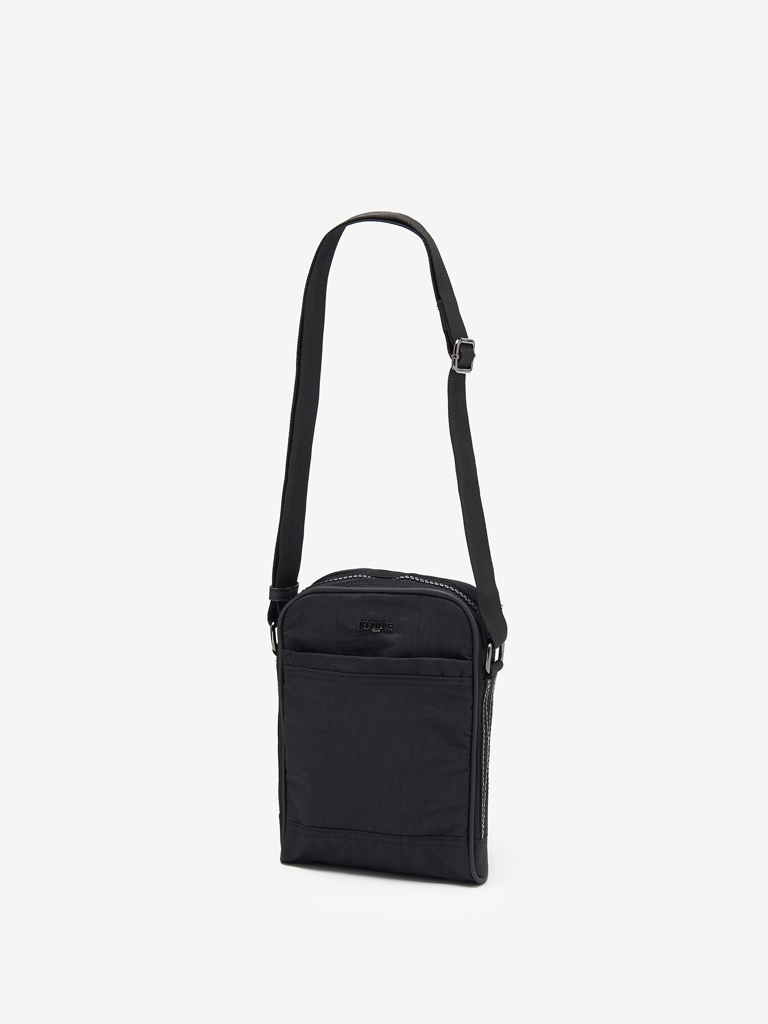 STITCHY SHOULDER BAG - Blauer
