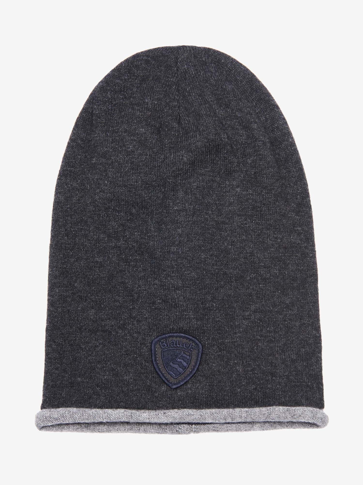 Blauer - TOQUE CAP - Antracite Melange - Blauer