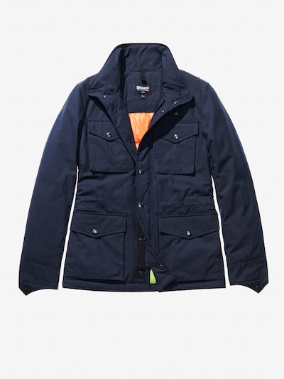 FIELD JACKET IN COTONE E NYLON PAOLO