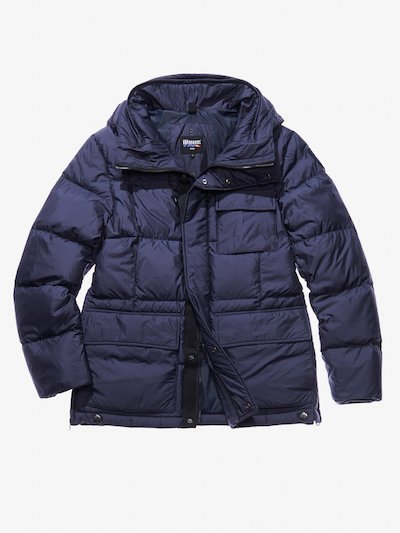 LORENZO MATTE NYLON DOWN COAT