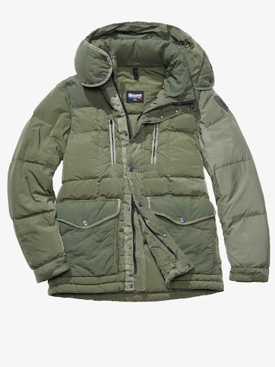 FRANCESCO MILITARY-STYLE DOWN COAT