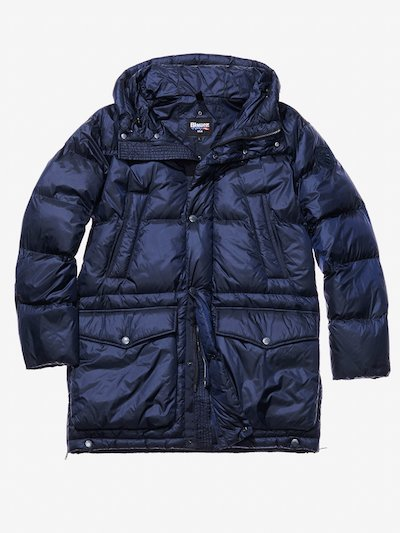 DAVIDE DOWN-BLEND COAT