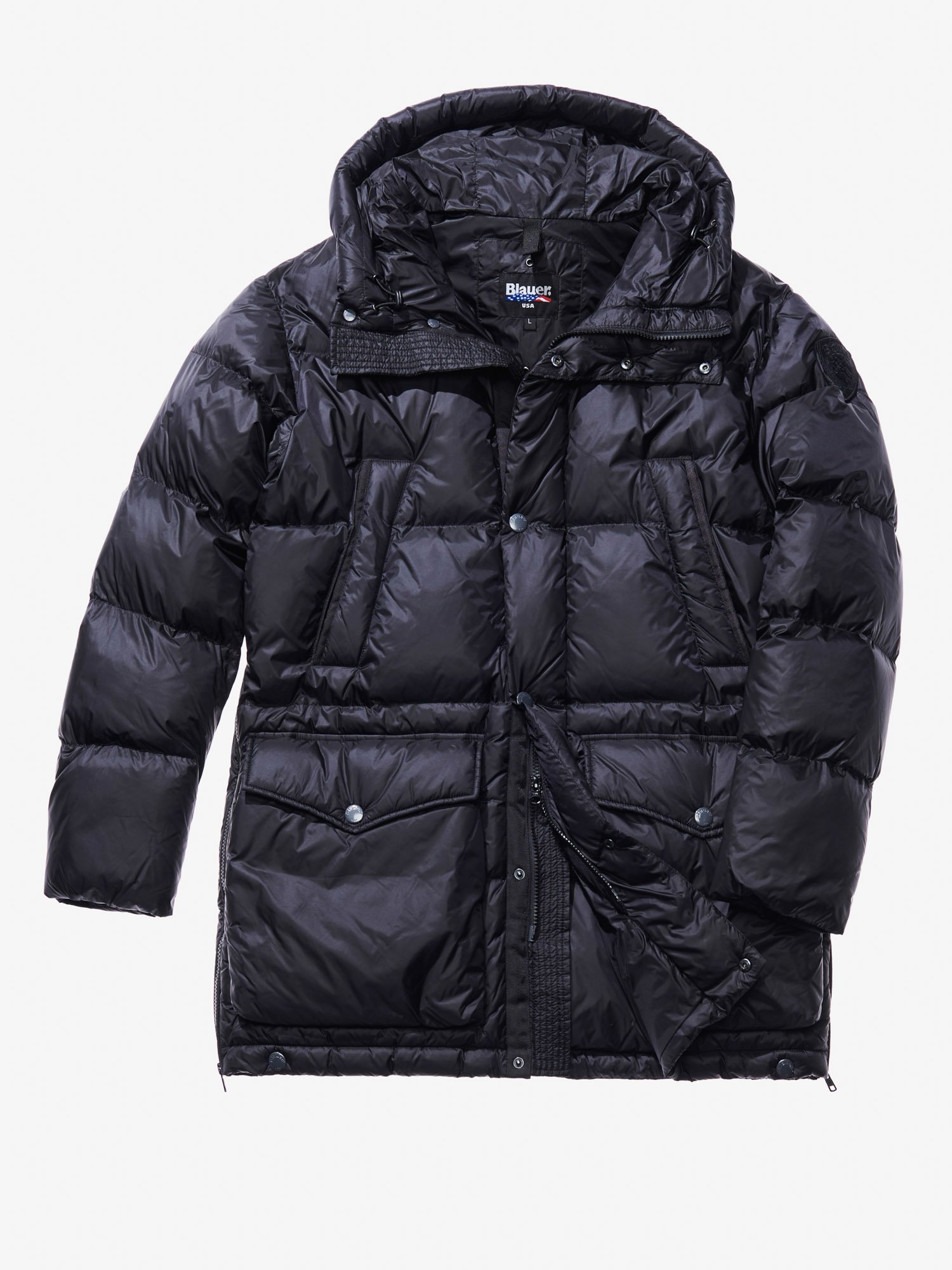 DAVIDE DOWN-BLEND COAT - Blauer