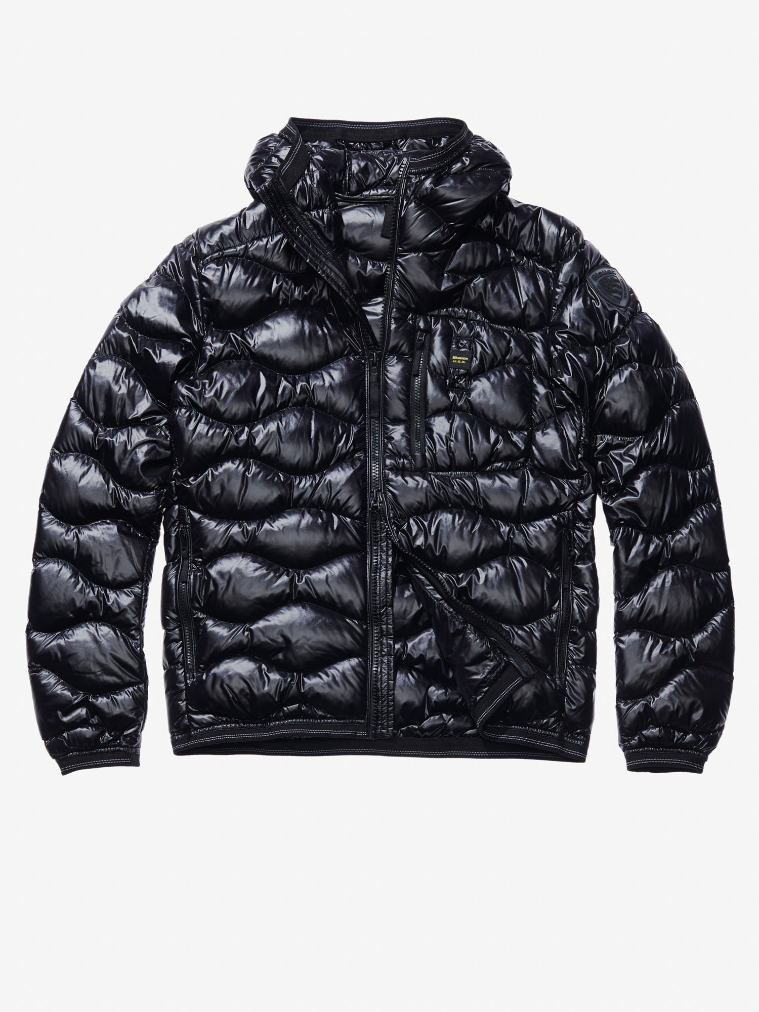 ALESSANDRO WAVE-QUILTED DOWN JACKET - Blauer