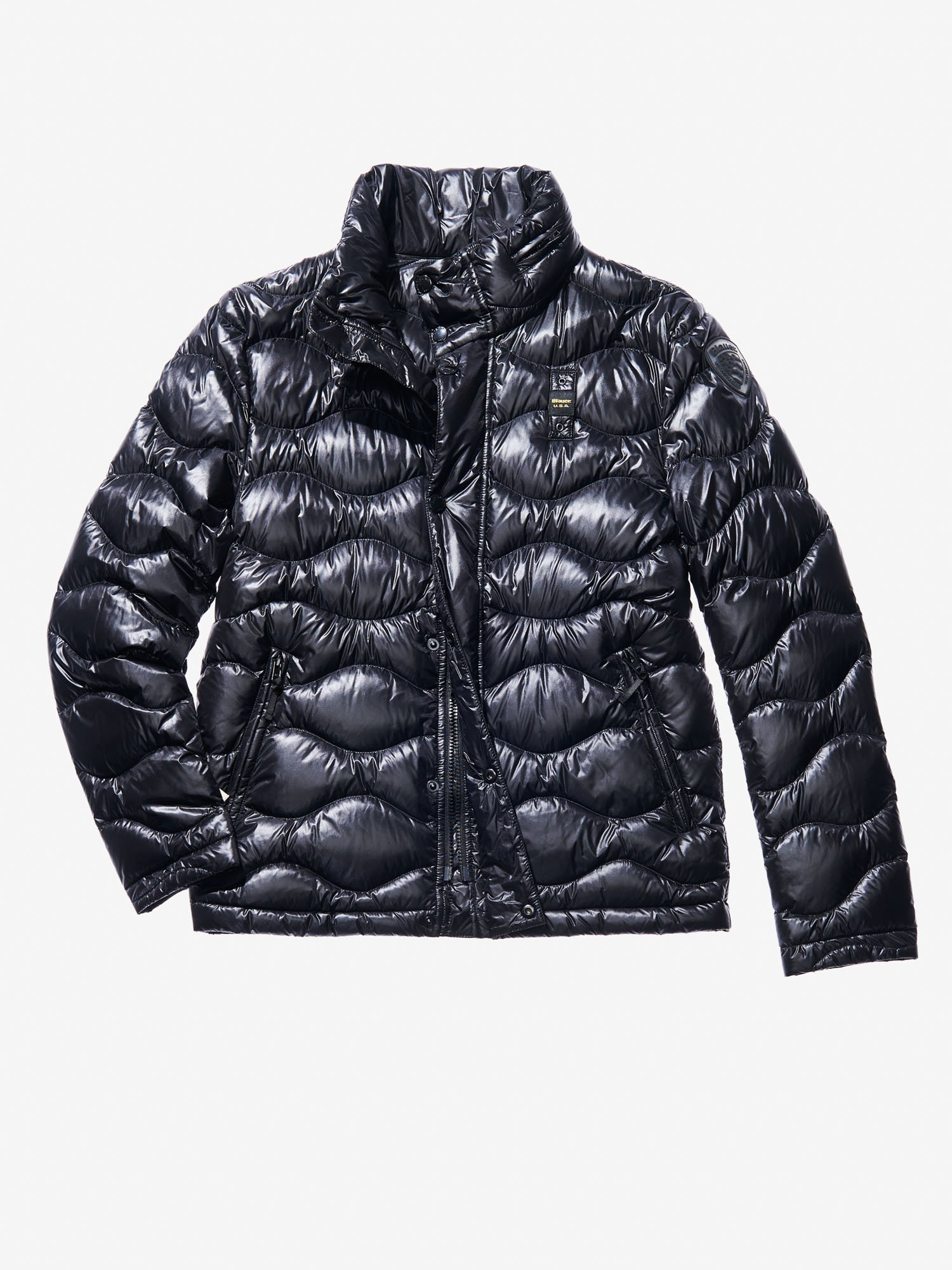 Blauer - TOMMASO ULTRA LIGHT PADDED JACKET WITH HOOD - Black - Blauer