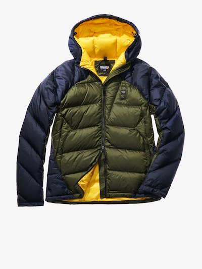 DIEGO TWO-TONE DOWN JACKET