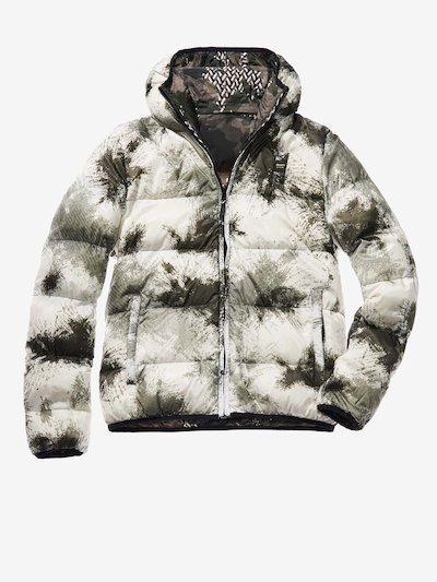 MARCO CAMOUFLAGE REVERSIBLE DOWN JACKET