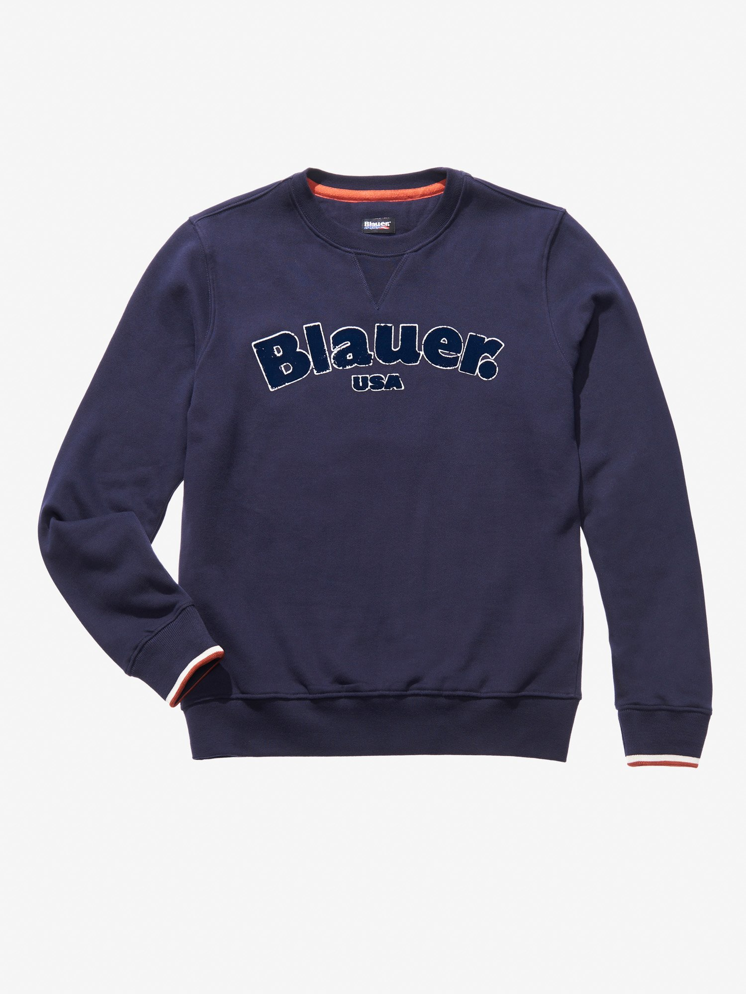 Blauer - CREW NECK HEAVY SWEATSHIRT - Dark Night Blue - Blauer