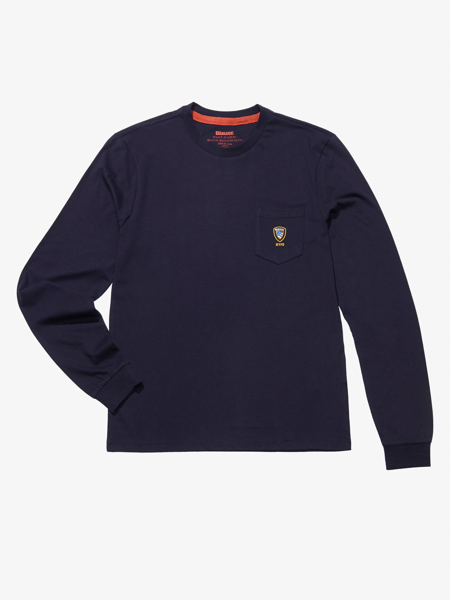Blauer - NYPD JERSEY SWEATER - Dark Night Blue - Blauer