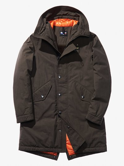 GUIDO GABARDINE HOODED PARKA