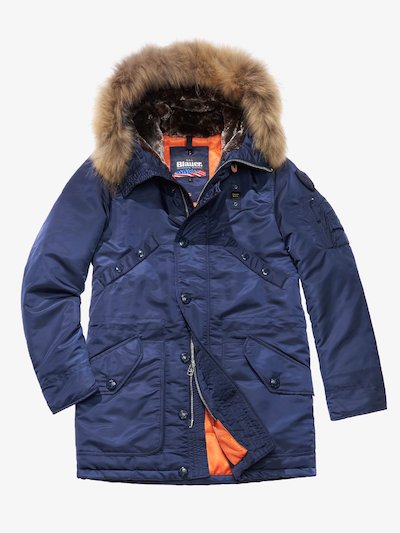 PARKA LONG EN SATIN BRILLANT IVAN