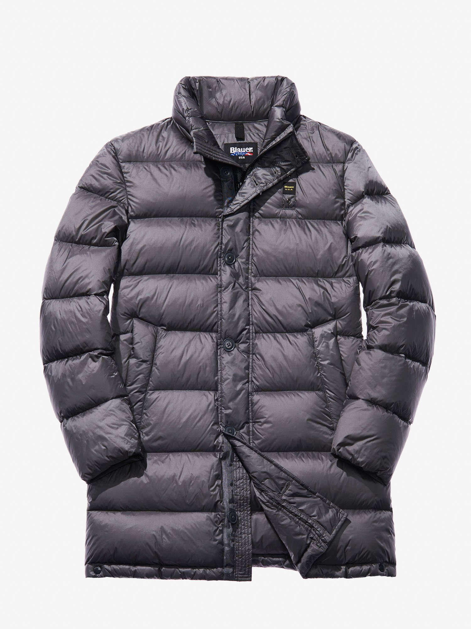 Blauer - DANIELE DOWN COAT - Dark Grey - Blauer
