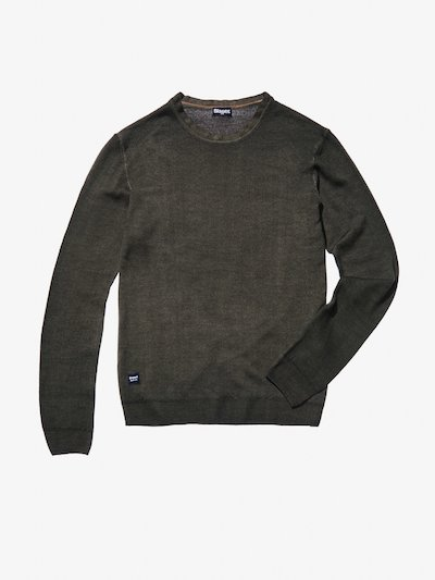 PULL EN LAINE COL ROND.