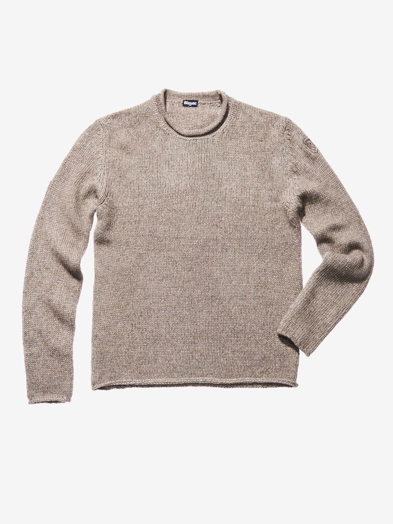 WOOL COTTON SWEATER - Blauer