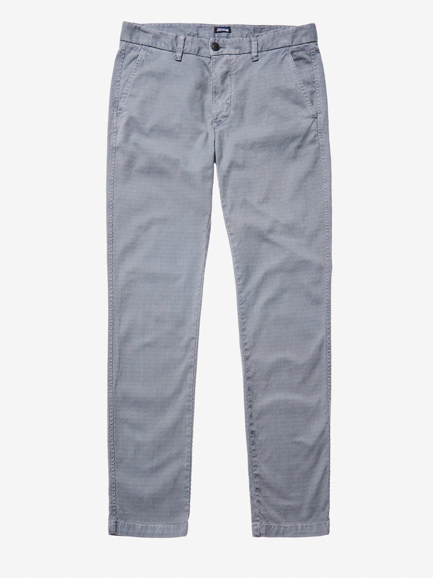JACQUARD CHINO PANTS - Blauer