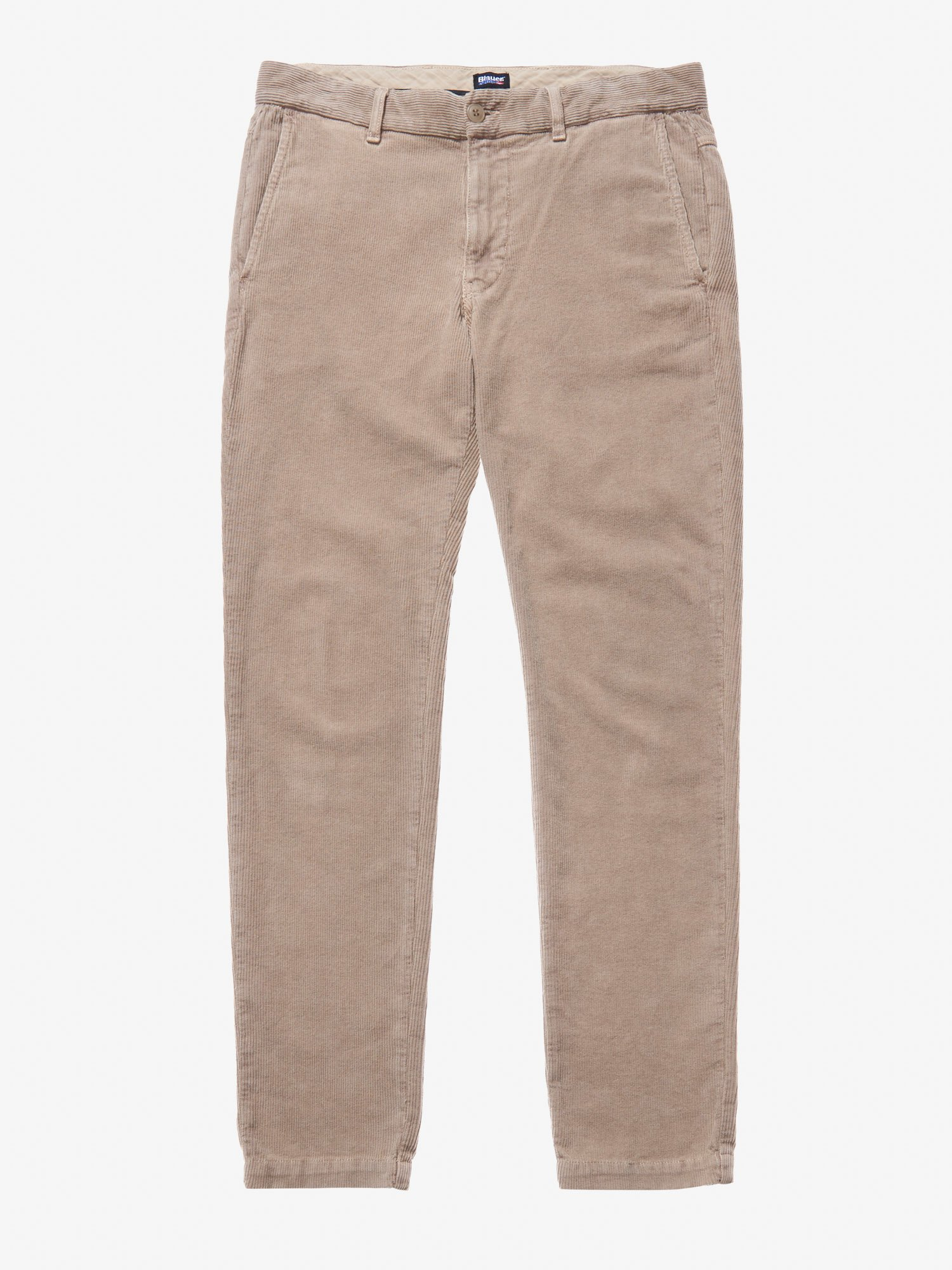 Blauer - NEEDLECORD PANTS - Doeskin - Blauer