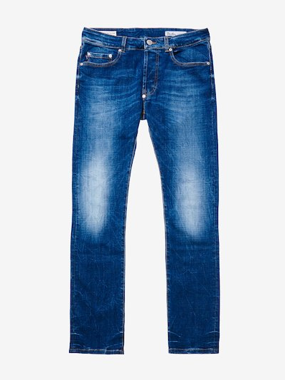 BOOT CUT STONE WASHED DENIM